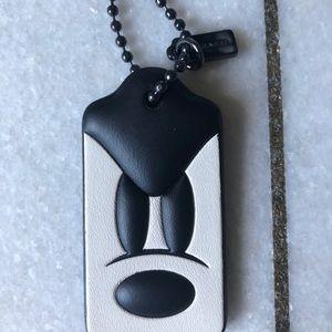 Mickey x Coach Bag / Key Chain Tab